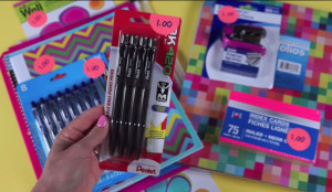Dollar Tree School Supply Haul