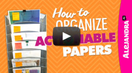 How to organize actionable papers (paper organizing tips)