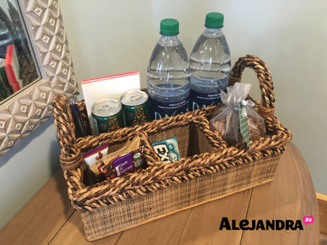 Guest Room Organization Tips - Organizing a Welcome Basket